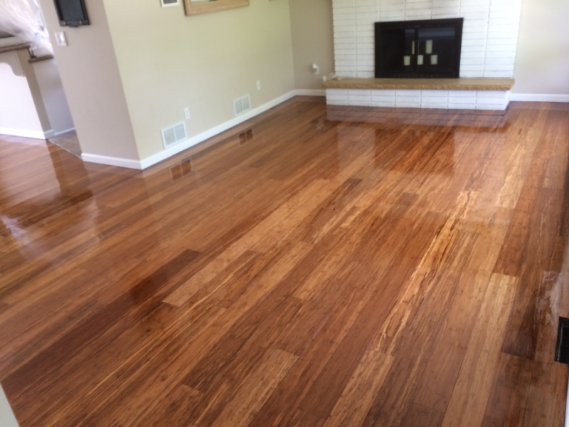 Buff Amp Recoat Hardwood Floors Installation
